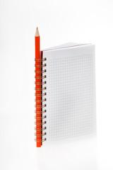 Datebook with pencil