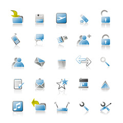 Blue Iconset