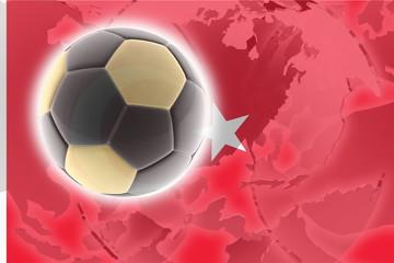 Flag of Turkey soccer