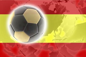 Flag of Spain soccer