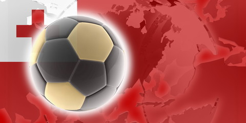 Flag of Tonga soccer