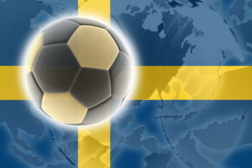 Flag of Sweden soccer