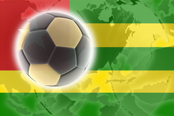 Flag of Togo soccer