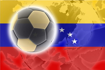 Flag of Venezuela soccer