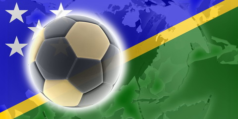 Flag of Solomon Islands soccer