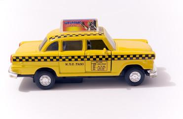 Jouet Checker Taxi New Yorkais