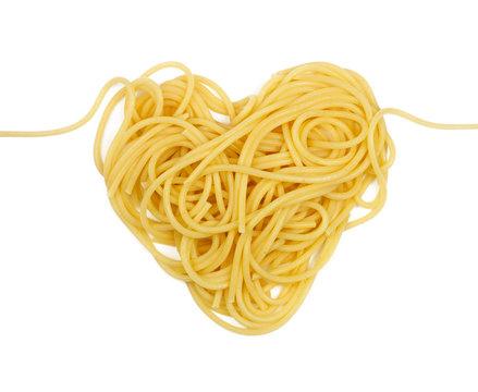 Pasta heart (valintine`s day theme)