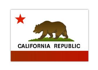 california republic flag vector