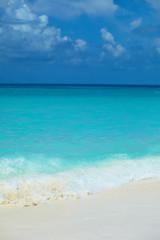 Poster Caraïben Beautiful beach