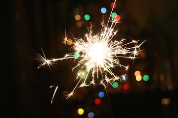 sparkler  bright