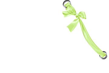 ruban vert anis