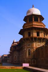Foto auf Leinwand Befestigung Tower in Agra fort