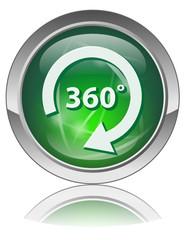 Bouton Web  360° (Voir Tour Visite Virtuelle Angle Présentation)