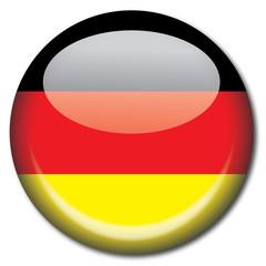 Chapa bandera Alemania