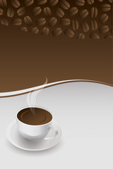 Kaffeetasse in 3D