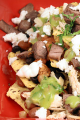 Authentic mexican nachos