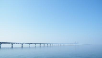 Canvas Prints Bridge the oeresundsbridge