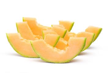 fresh orange melon