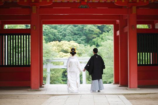日本の結婚式 イメージ