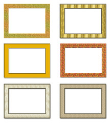 Collection metal photo frameworks