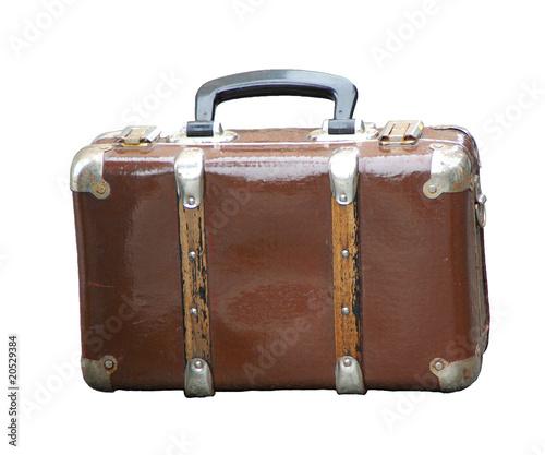 alter brauner koffer stockfotos und lizenzfreie bilder auf bild 20529384. Black Bedroom Furniture Sets. Home Design Ideas