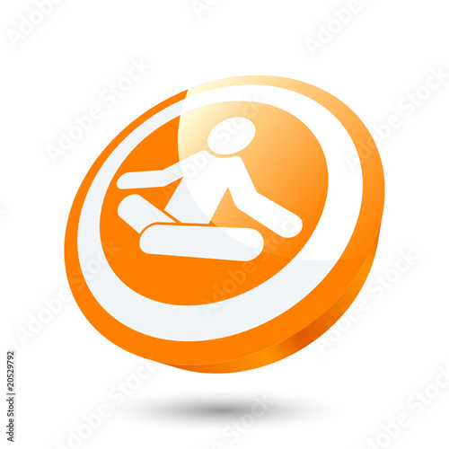 Yoga Meditation Entspannung Erholung Zeichen Stock Image And