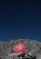 Red hut