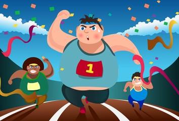 Even Fat Men Can Run