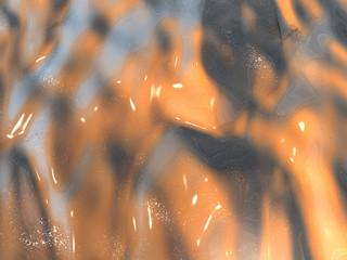 Background - Wasserfläche - Flüssigkeit - 3D