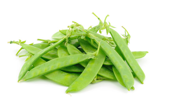 Close up of snow peas