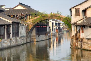 China, Shanghai water village Nanxun