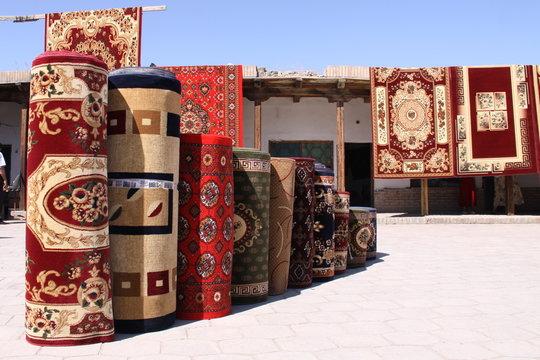 Teppichmarkt in Buchara - Usbekistan