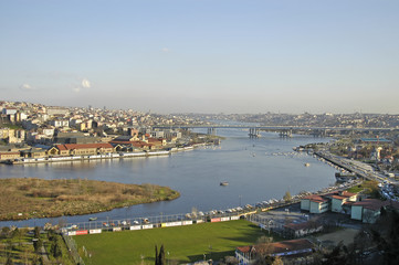 Halic (Golden Horn), Istanbul - Turkey