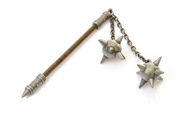 Fléau d'armes avec deux étoiles du matin