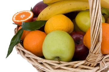 Cesto Con Frutta - Closeup