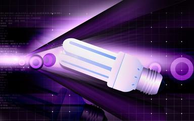 Illustration of a fluorescent light