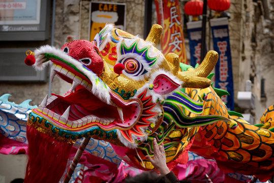 Dragon nouvel an Chinois