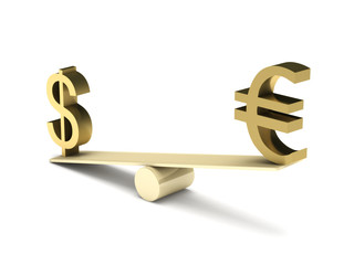 Imbalance of dollar and euro
