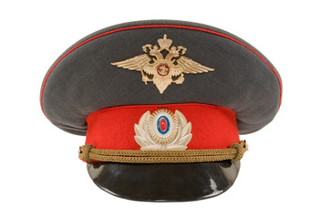 Russian police officer cap