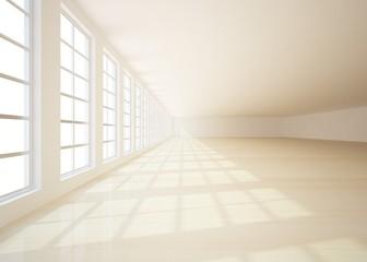 white interior concept