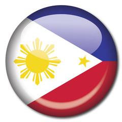 chapa bandera Filipinas