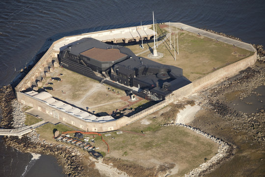 fort sumter, where american civil war started