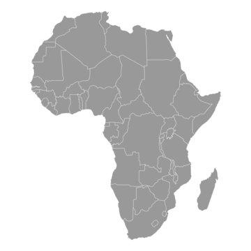 landkarte afrika I