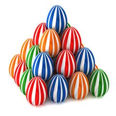 Easter eggs  piramid