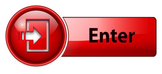 enter icon, button