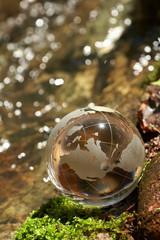Water  stream, globe, ecology