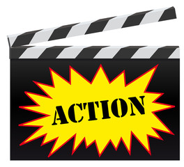 Clap cinema action