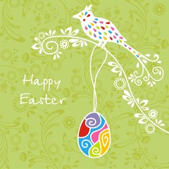 Postcard on Easter