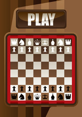 Designed chess poster