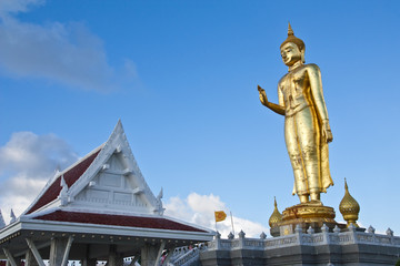 Huge standing Buddha statue
